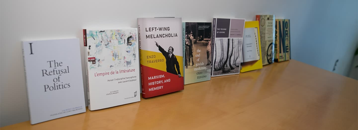 Romance Studies faculty books