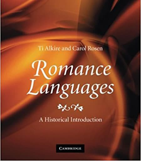 "Abstract Cover image of ""Romance Languages: A Historical Introduction"""