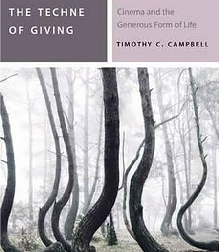 Cover of the Techne of Giving by Timothy Campbell
