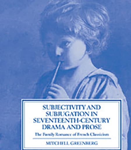 Cover image of young woman: Subjectivity and Subjugation in Seventeenth-Century Drama and Prose
