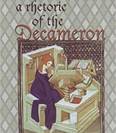 COver image of woman in medieval manuscript: The Rhetoric of the Decameron