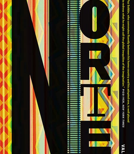 "Cover text: ""Norte"" with multicolor background"