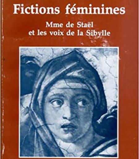 Cover image of medieval painting of young woman: Fictions féminines : Mme de Staël et les voix de la Sibylle